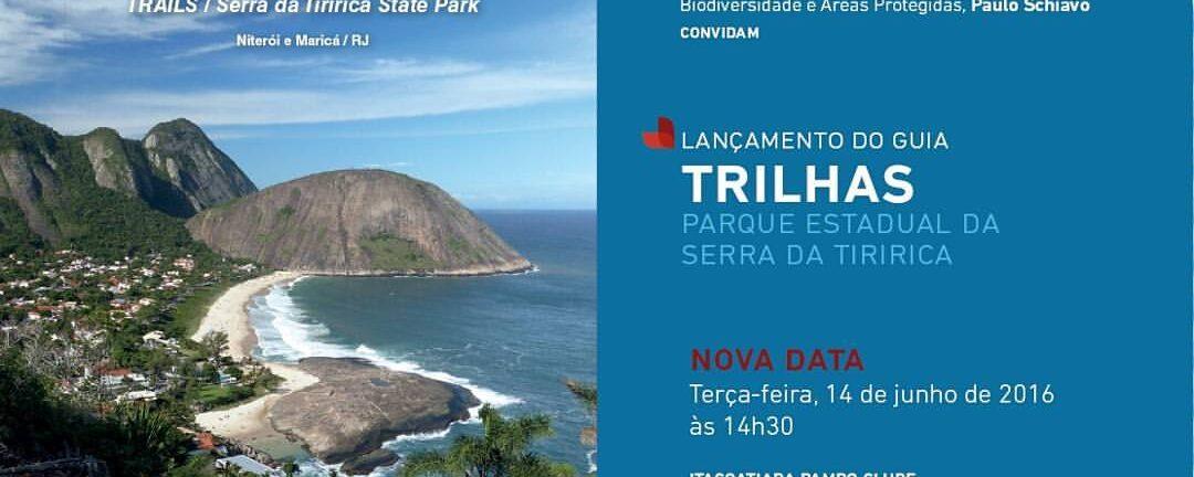 Lançamento do Guia de Trilhas do Parque Estadual da Serra da Tiririca – PESET