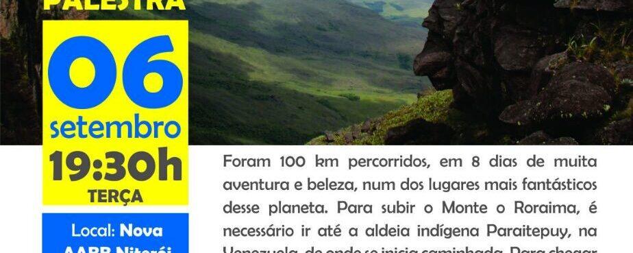 Palestra: Expedição ao Monte Roraima